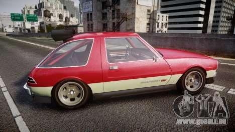 Declasse Rhapsody Camber für GTA 4 linke Ansicht
