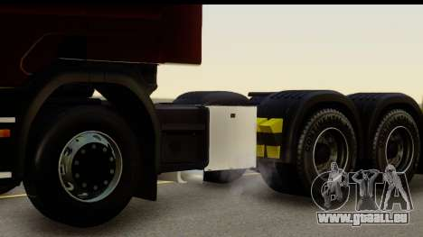 Scania P340 pour GTA San Andreas vue arrière