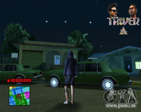C-HUD Tawer By Flocky pour GTA San Andreas