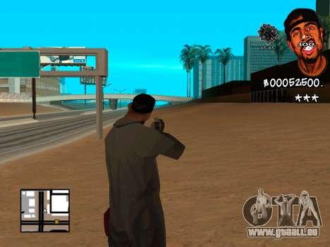 C-HUD WeJack pour GTA San Andreas deuxième écran