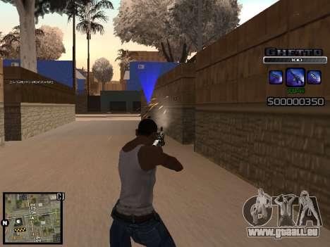 С-HUD GHETTO für GTA San Andreas zweiten Screenshot