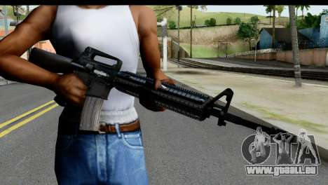 M4A1 from State of Decay für GTA San Andreas dritten Screenshot