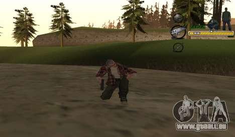 C-HUD TaweR Green pour GTA San Andreas