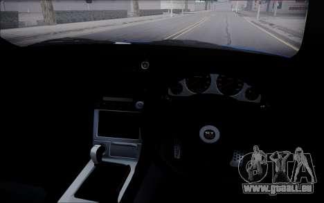 Nissan Skyline GT-R V Spec II 2002 für GTA San Andreas Innenansicht