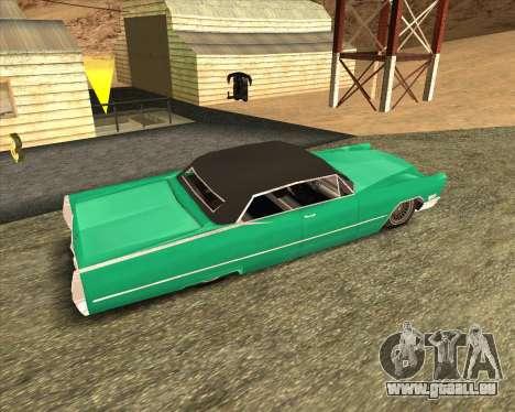 Cadillac DeVille Lowrider 1967 für GTA San Andreas linke Ansicht