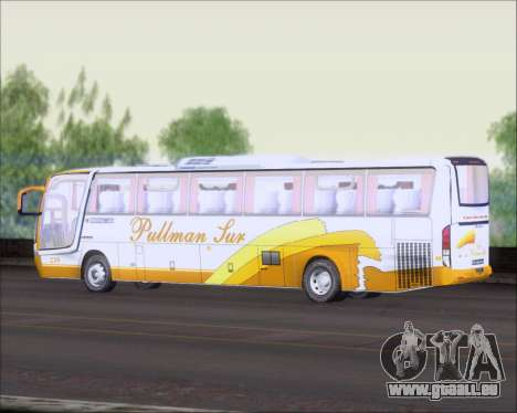 Busscar Vissta Buss LO Pullman Sur für GTA San Andreas Rückansicht
