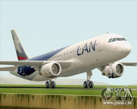 Airbus A320-200 LAN Argentina pour GTA San Andreas