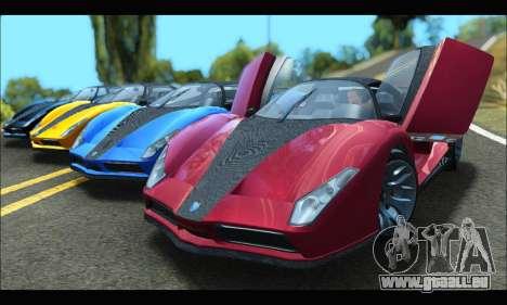Grotti Cheetah v3 (GTA V) (SA Mobile) pour GTA San Andreas