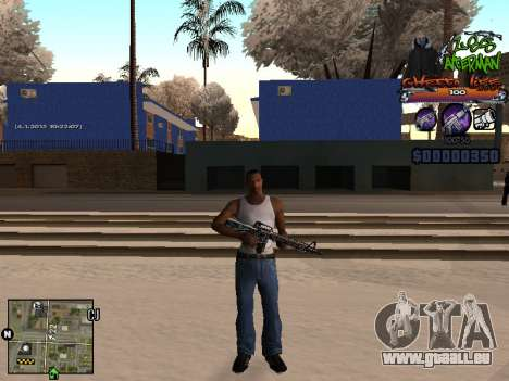 C-HUD Les Alterman für GTA San Andreas zweiten Screenshot