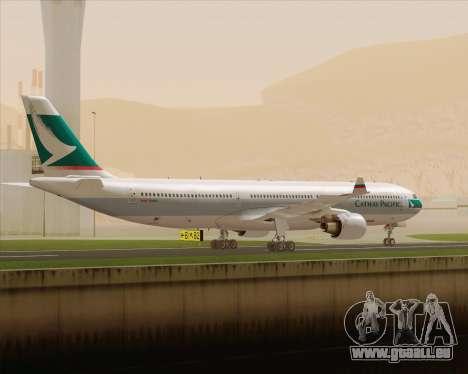 Airbus A330-300 Cathay Pacific für GTA San Andreas rechten Ansicht