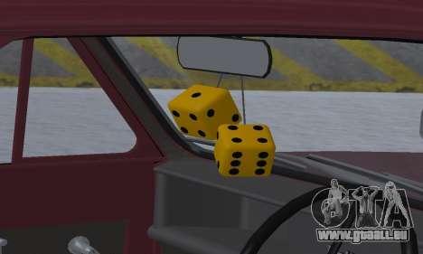 Reliant Regal Sedan pour GTA San Andreas roue