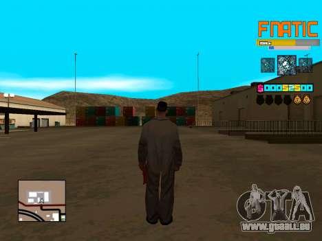 C-HUD Fnatic pour GTA San Andreas troisième écran