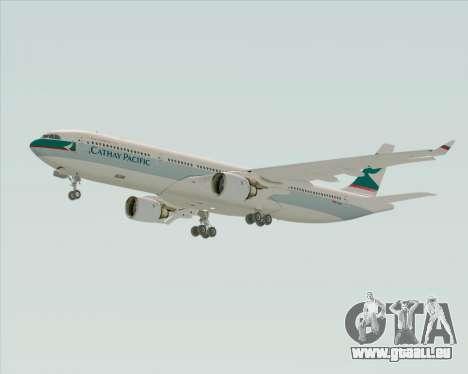 Airbus A330-300 Cathay Pacific für GTA San Andreas zurück linke Ansicht