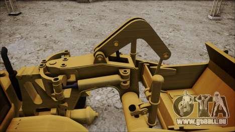 Caterpillar 631D pour GTA San Andreas vue de droite