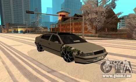 Skoda Octavia Winter Mode für GTA San Andreas