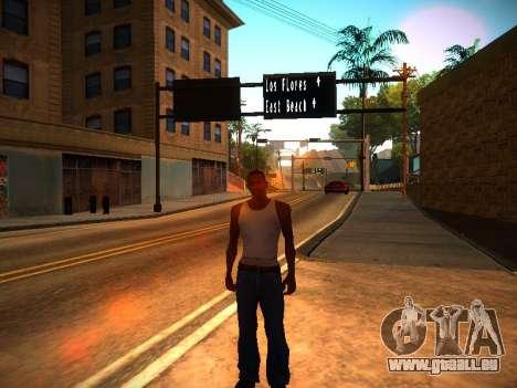 ENB v1.3 pour les faibles PC pour GTA San Andreas deuxième écran