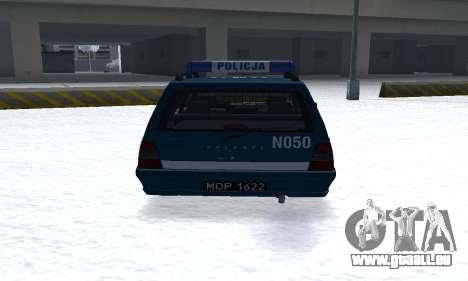 Daewoo-FSO Polonez Kombi 1.6 GSI Police 2000 pour GTA San Andreas vue de droite