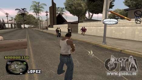 C-HUD Sigara pour GTA San Andreas