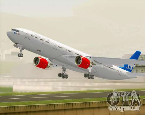 Airbus A330-300 Scandinavian Airlines für GTA San Andreas Unteransicht
