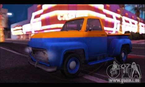 Vapid Slamvan (GTA V) pour GTA San Andreas