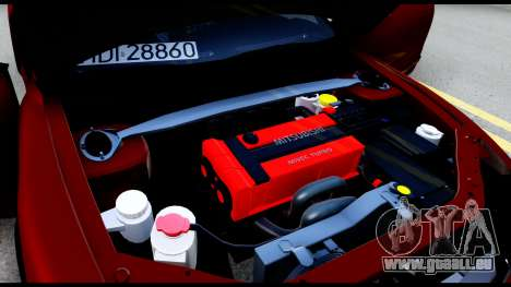 Mitsubishi Eclipce für GTA San Andreas Seitenansicht