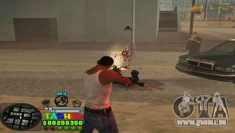 C-HUD Tasher pour GTA San Andreas quatrième écran