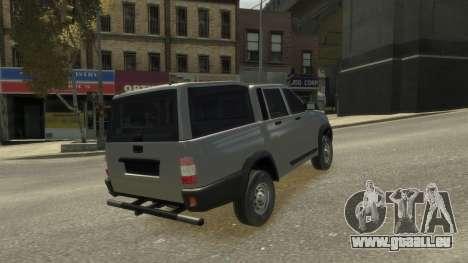 UAZ Patriot Pickup v.2.0 für GTA 4 Seitenansicht