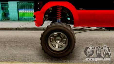 GTA 5 Vapid Sandking XL pour GTA San Andreas sur la vue arrière gauche
