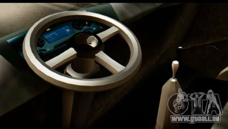 Toyota Dyna Truck Hog Dealer pour GTA San Andreas sur la vue arrière gauche