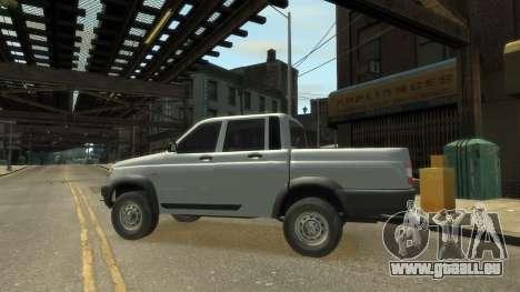 UAZ Patriot Pickup v.2.0 pour GTA 4 est un droit