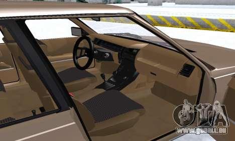 Renault 11 Turbo Phase I 1984 pour GTA San Andreas moteur