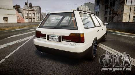 Vulcar Ingot Custom pour GTA 4 Vue arrière de la gauche