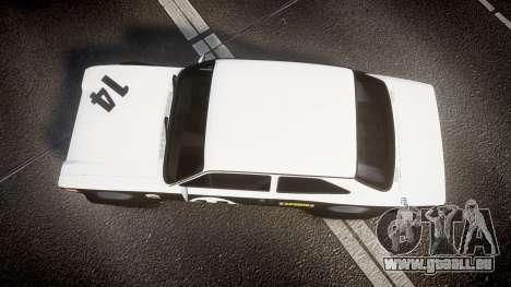 Ford Escort RS1600 PJ14 pour GTA 4 est un droit