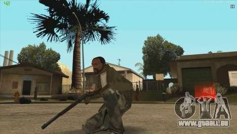 Winchester de Killing Floor pour GTA San Andreas troisième écran