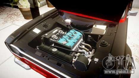 Ford Escort RS1600 PJ62 pour GTA 4 Vue arrière