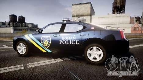 Dodge Charger 2006 Sheriff Bohan [ELS] pour GTA 4 est une gauche