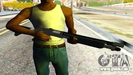 Shotgun from GTA 5 für GTA San Andreas dritten Screenshot