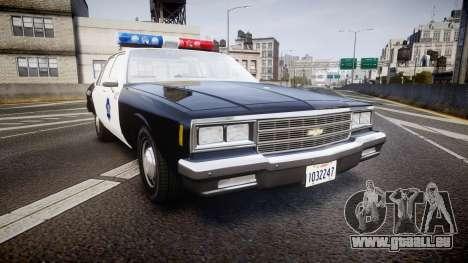Chevrolet Impala 1985 LCPD [ELS] pour GTA 4