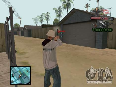 C-Hud Yakuza II für GTA San Andreas her Screenshot