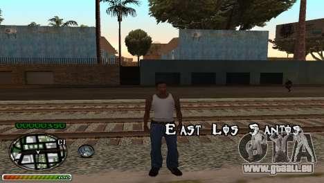 C-HUD Wonderful pour GTA San Andreas deuxième écran