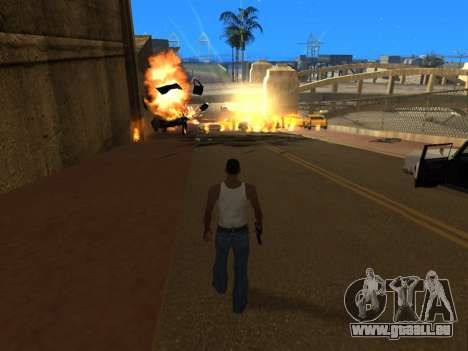Realistic Effects v3.4 by Eazy für GTA San Andreas her Screenshot