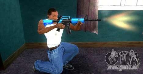 M4 RevoFX pour GTA San Andreas deuxième écran