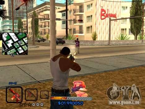 C-HUD by HudMud pour GTA San Andreas deuxième écran