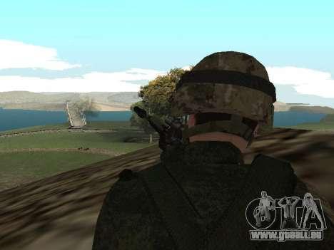 Les soldats de l'armée russe dans la tenue du Gu pour GTA San Andreas troisième écran