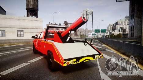 Dodge Ram 3500 Falck Service [ELS] für GTA 4 hinten links Ansicht