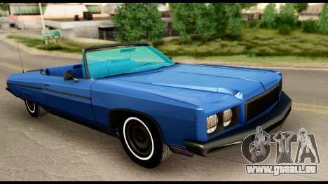 Chevy Caprice 1975 Beta v3 für GTA San Andreas rechten Ansicht