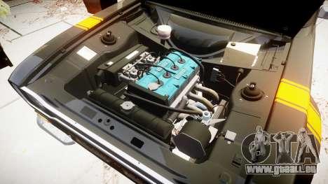 Ford Escort RS1600 PJ18 pour GTA 4 Vue arrière