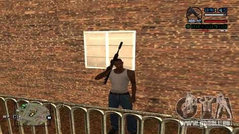 C-HUD Politra pour GTA San Andreas
