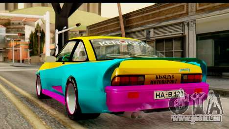 Opel Manta pour GTA San Andreas laissé vue
