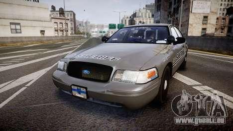 Ford Crown Victoria Sheriff K-9 Unit [ELS] für GTA 4